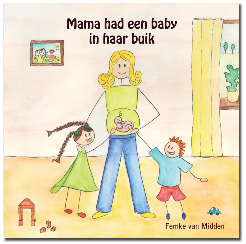 Mama Had Een Baby In Haar Buik.